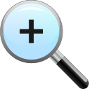 zoom, in icon