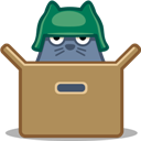 Box, Cat icon