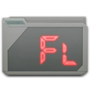 folder adobe flash icon
