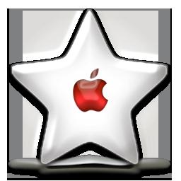 red, fav, nanosuit, apple, sparkle icon