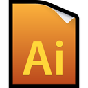 adobe, file, illustrator, cs5 icon