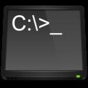 application, ms, dos icon