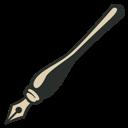 Ink, Pen, Vintage icon