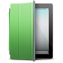 cover, ipad, green icon