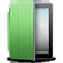 green, cover, black, ipad icon