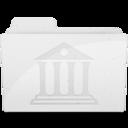 LibraryFolder White icon