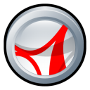 Adobe Acrobat Reader CS 2 icon