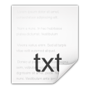 mimetypes text plain icon