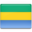 gabon, flag, country icon