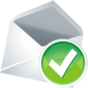 Accept, Mail icon