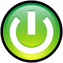 power on, turn on, button, turn icon