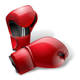 gloves, boxing icon