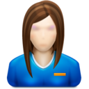 user,female,profile icon