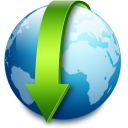 descend, descending, fall, decrease, down, download icon