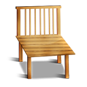 Wood Chair icon