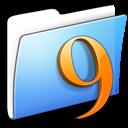 aqua,smooth,folder icon