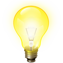 idea, light bulb, ktip, tip icon