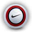 soccer, red, sport, football, aerow icon