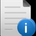 File, Info icon