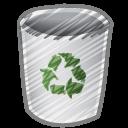 Bin, Empty icon