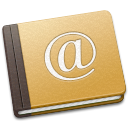 book, address, old icon