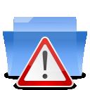 auto, folder, important, alert icon