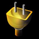 in, plug icon