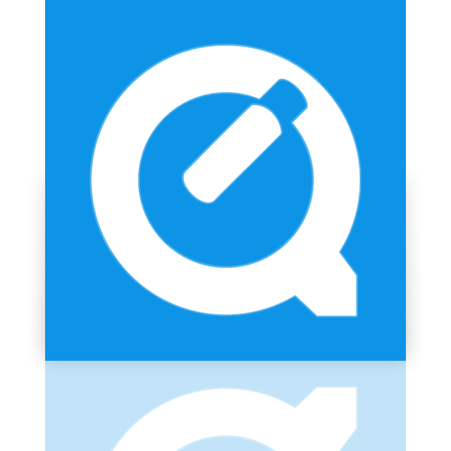 quicktime, mirror icon