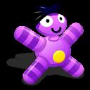 doll, grape icon