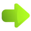 arrow,right,green icon