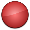 badge, blank, red, empty icon