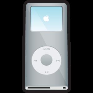 silver, ipod, nano icon