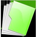 folder,green icon