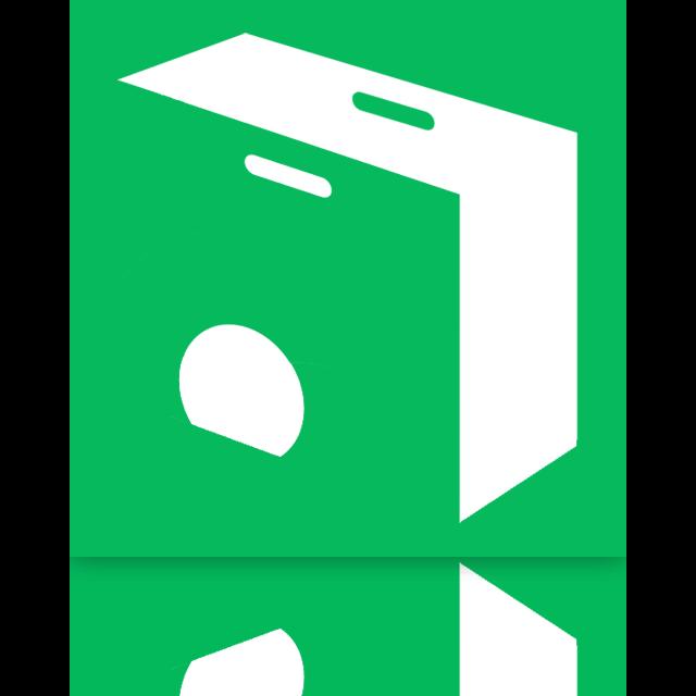 web, store, chrome, mirror icon