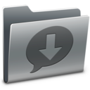 ichat,downloads,folder icon