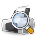 printer, document, preview, print, paper, file icon