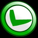 ok, button icon