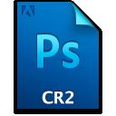 Cr2file, Document, File, Ps icon