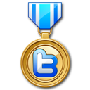 Medal, Twitter icon