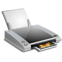 print, printer, and, fax icon