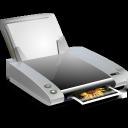 print, printer, and, fax icon