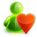 valentine, love icon