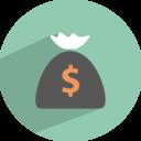 dollar collection icon