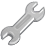 spanner,tool icon