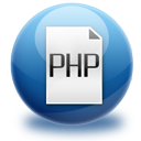 paper, document, php, file icon