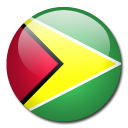 guyana, flag, country icon