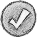 checked, yes, tick, check on, correct, checkmark, right, ok icon