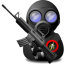 gas,soldier,with icon
