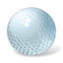 ball, sport, golf ball, golf icon