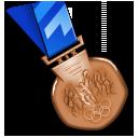 bronze,medal,award icon